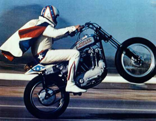 Evel Knievel Motorcycle Daredevil Jumper On His Harley: Do You Remember?