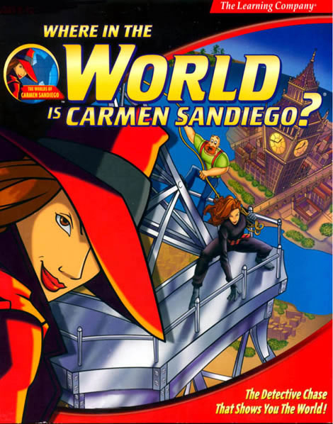 Where In The World Is Carmen Sandiego Do You Remember
