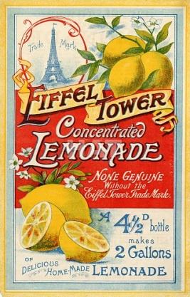 Eiffel Tower Lemonade Crystals