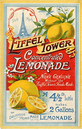 Eiffel Tower Lemonade Crystals - Do You Remember?