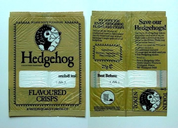 Hedgehog Flavoured Crisps