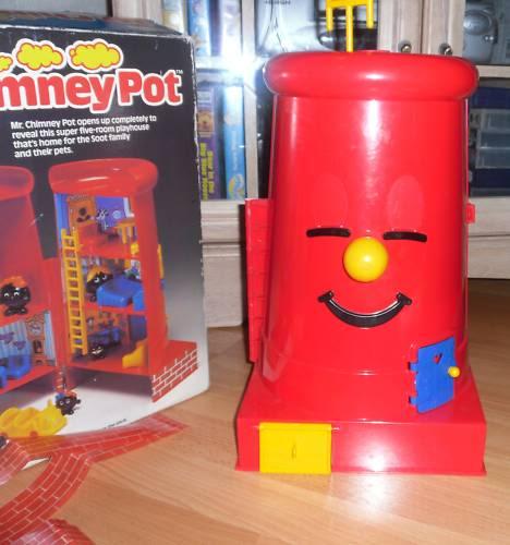 Big Red Chimney Pot Do You Remember