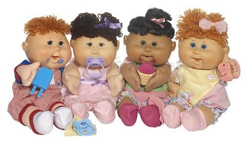Image result for cabbage patch kids 80's